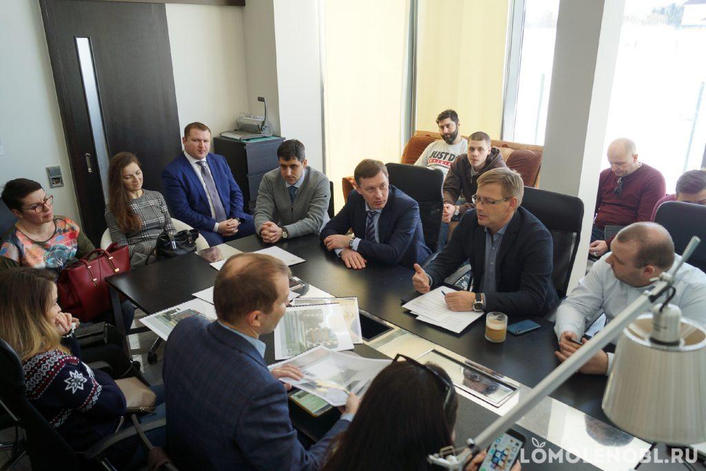 Михаил Москвин в ЖК Ванино