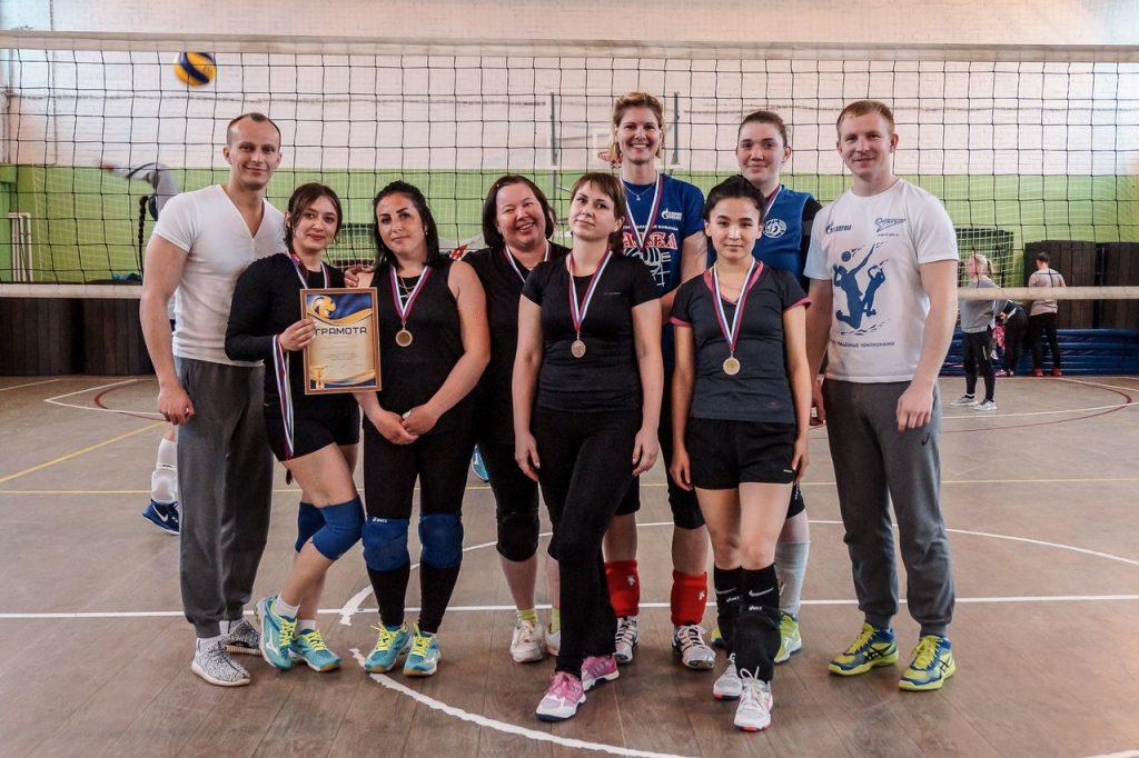 Первенство Ломоносовского района по волейболу среди женских команд