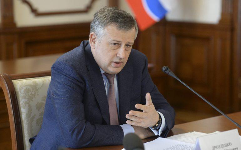 Губернатор Александр Дрозденко принимает звонки